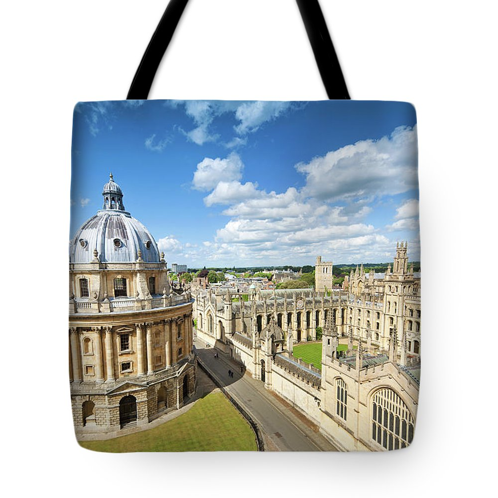 Education Tote Bag featuring the photograph Oxford, Uk by Nikada