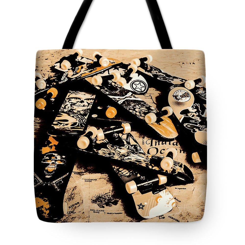 Still Life Tote Bag featuring the photograph Paper Skate by Jorgo Photography - Wall Art Gallery