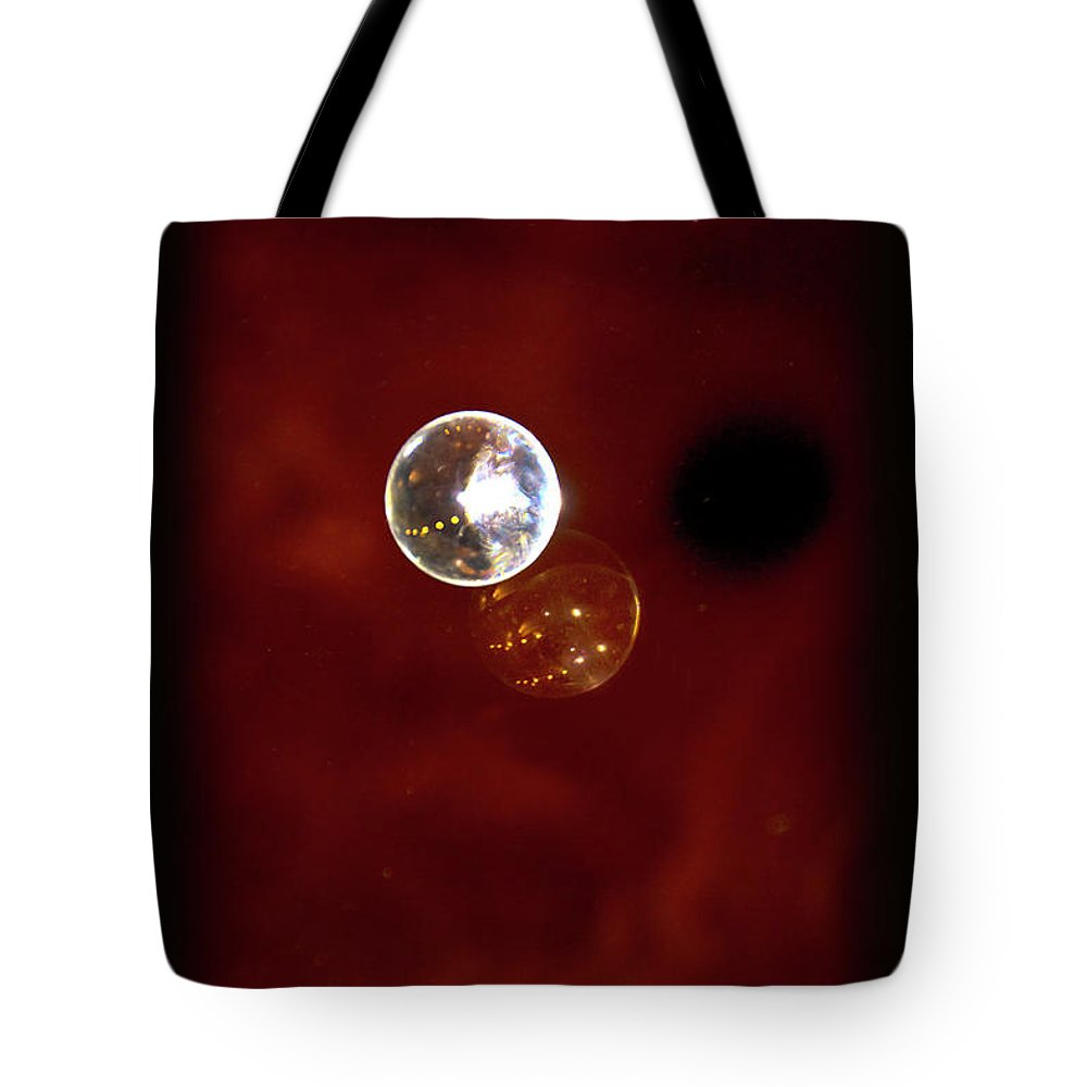 Marble Tote Bag featuring the photograph Parallel Universe by Al Bourassa
