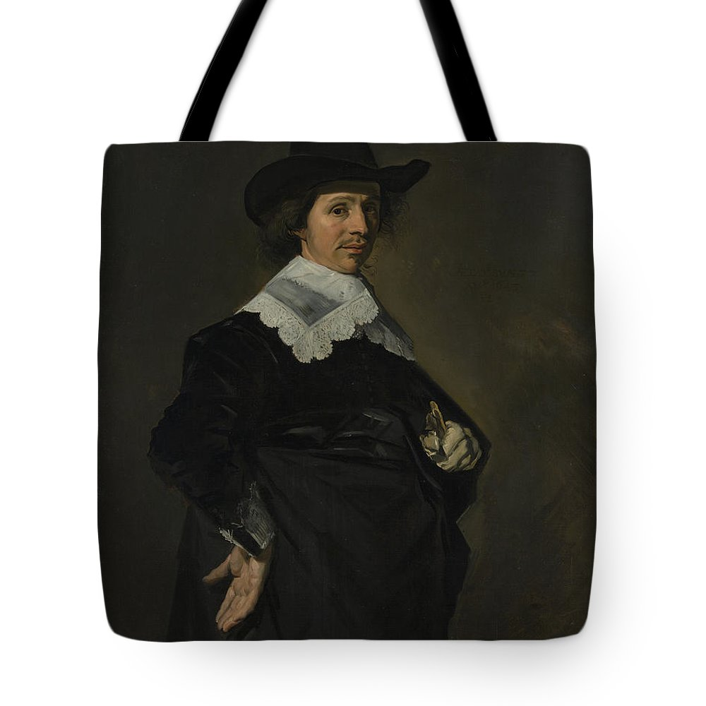 Frans Hals Tote Bag featuring the painting Paulus Verschuur    by Frans Hals