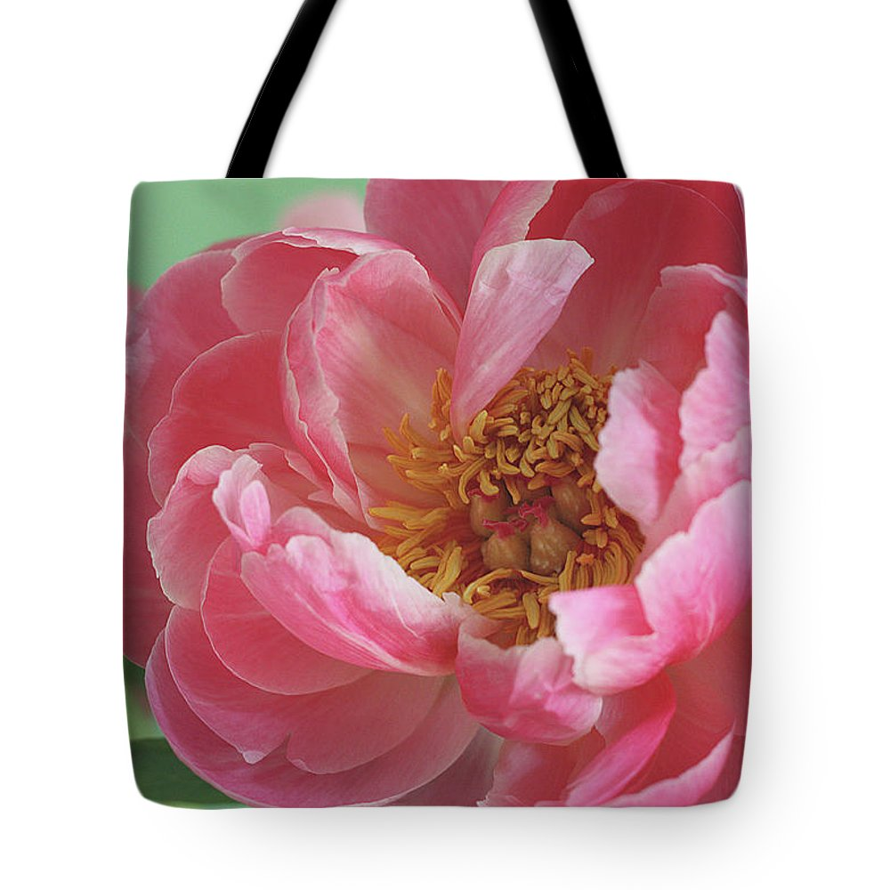 California Tote Bag featuring the photograph Peony by © 2011 Staci Kennelly