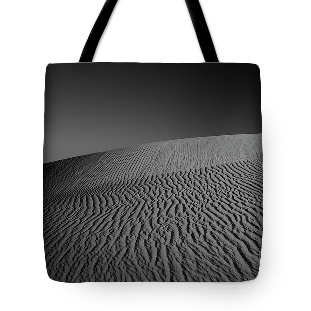 Australia Tote Bag featuring the photograph Perry Sandhills Black And White by Ivan Krpan