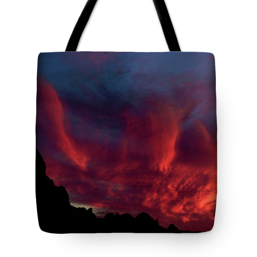 Arizona Tote Bag featuring the photograph Phoenix Risen by Randy Oberg