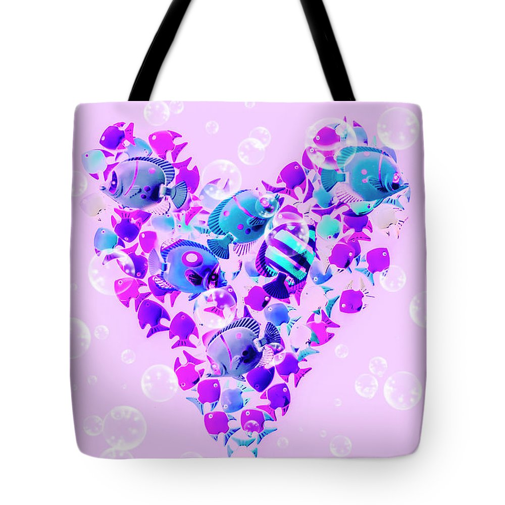Love Tote Bag featuring the photograph Plenty Of Fish In The Sea by Jorgo Photography - Wall Art Gallery