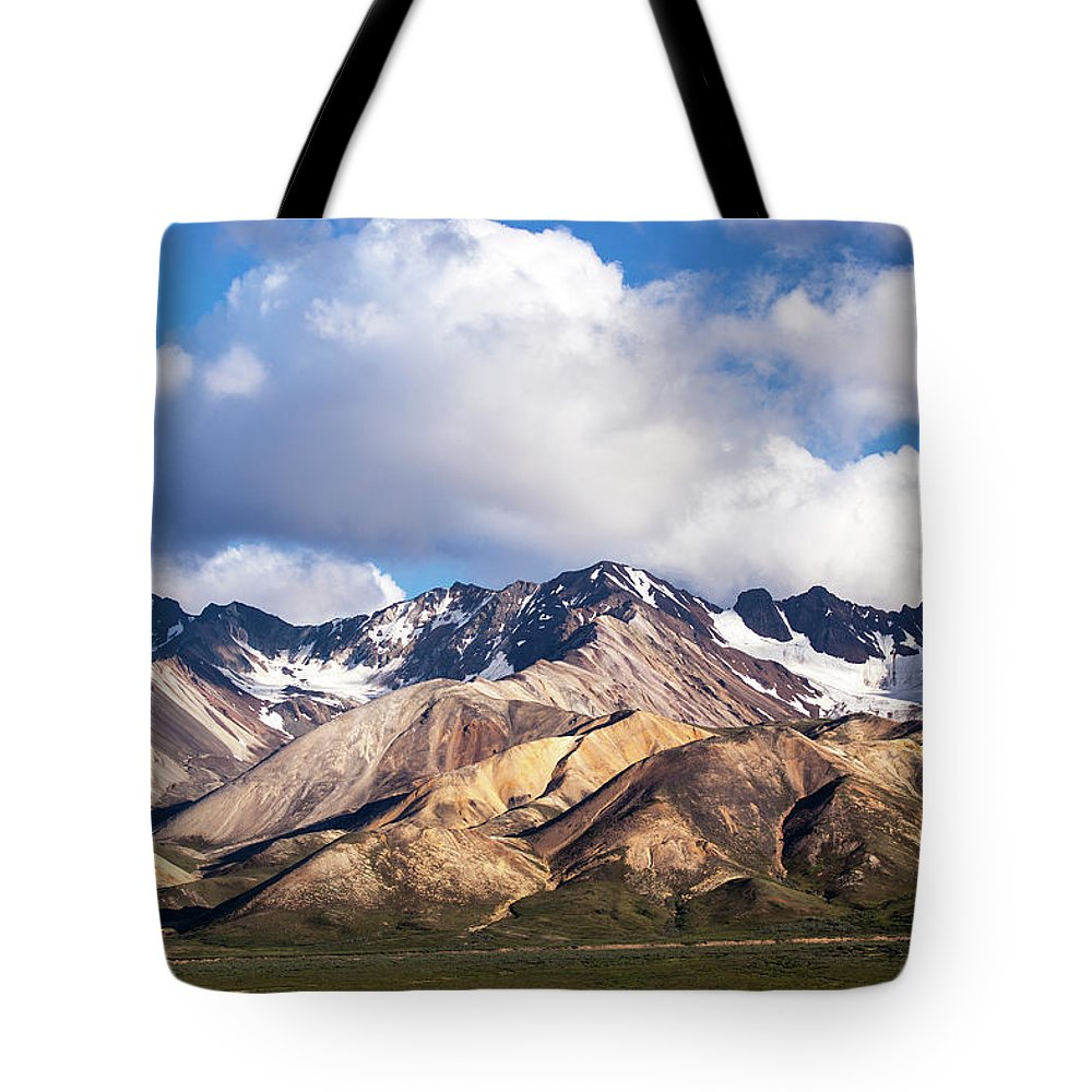 Tranquility Tote Bag featuring the photograph Polychrome Overlook View by Daniel A. Leifheit