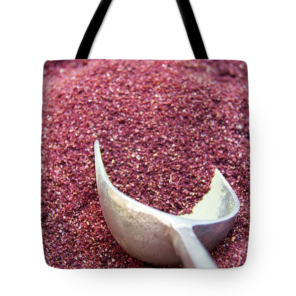 Spice Tote Bag featuring the photograph Powder Spices by Lluís Vinagre - World Photography