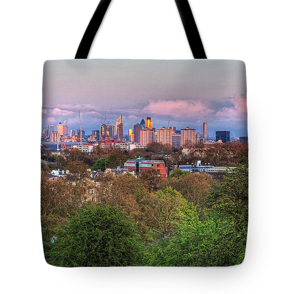 Outdoors Tote Bag featuring the photograph Primrose Hill by Esslingerphoto.com