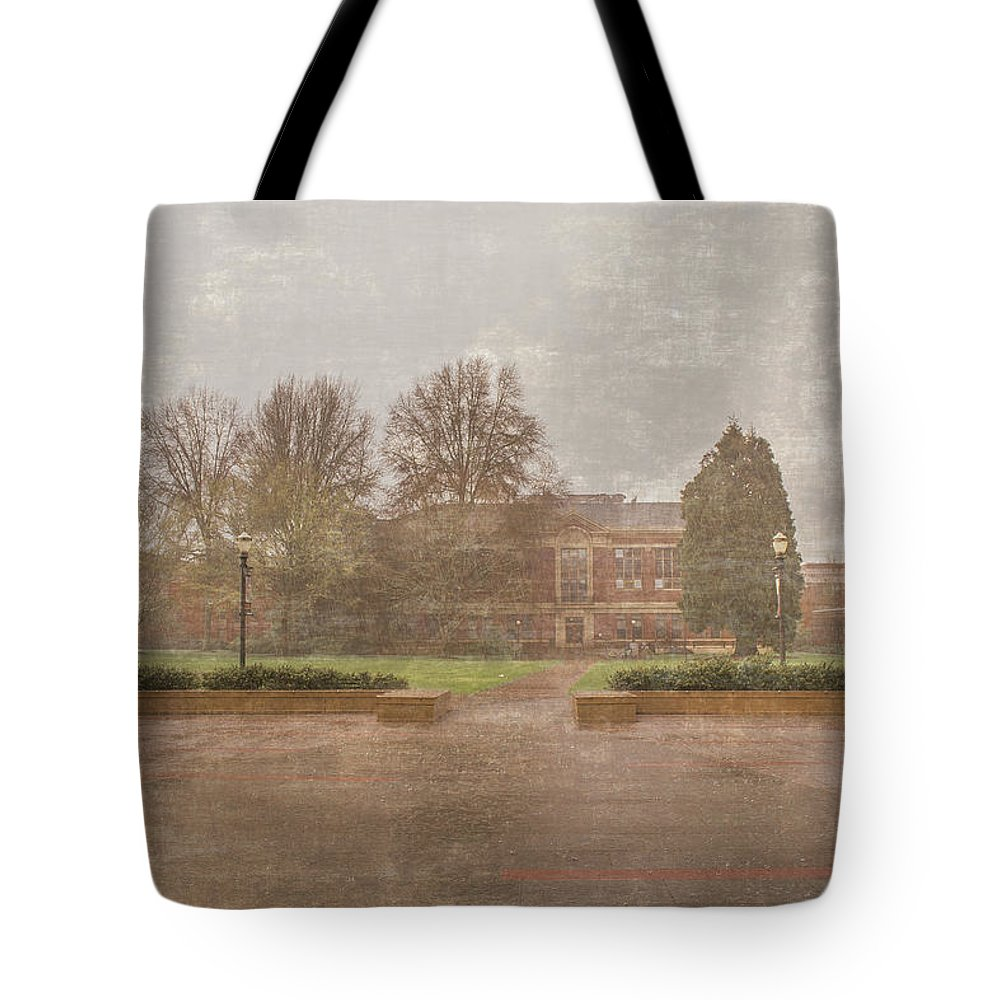 Osu Tote Bag featuring the photograph Rainy Day by Alina Avanesian