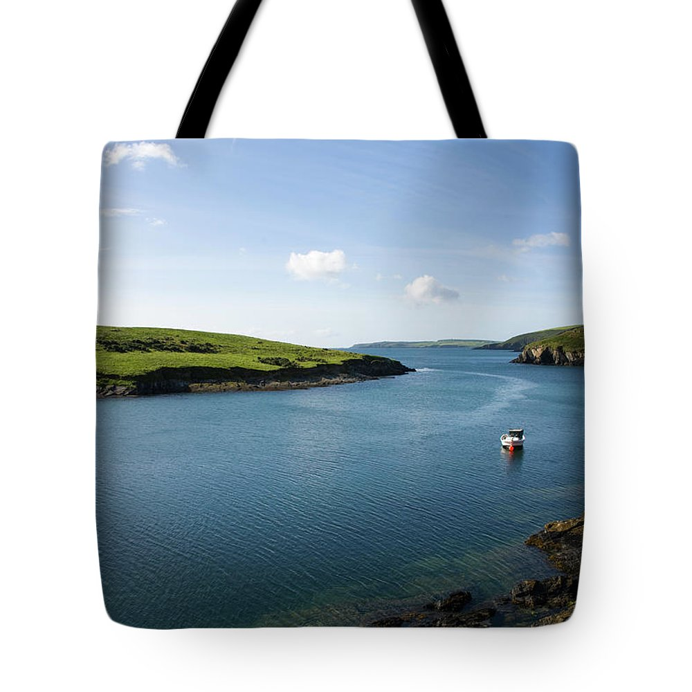Scenics Tote Bag featuring the photograph Republic Of Ireland, County Cork, Inlet by David Epperson