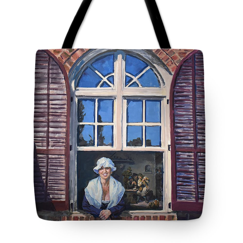 18th Century Tote Bags
