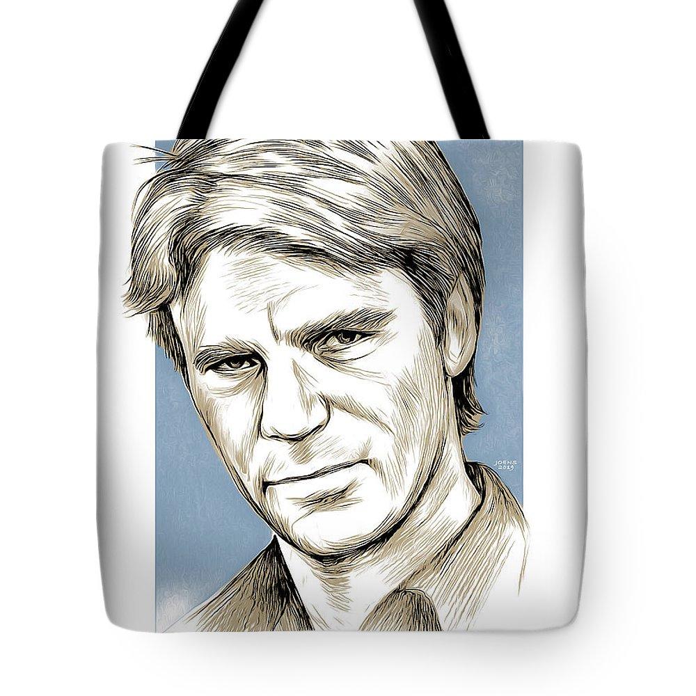 Dean Mixed Media Tote Bags
