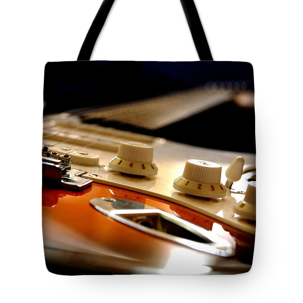 Music Tote Bag featuring the photograph Rock & Soul by Pasotraspaso. Jesus Solana