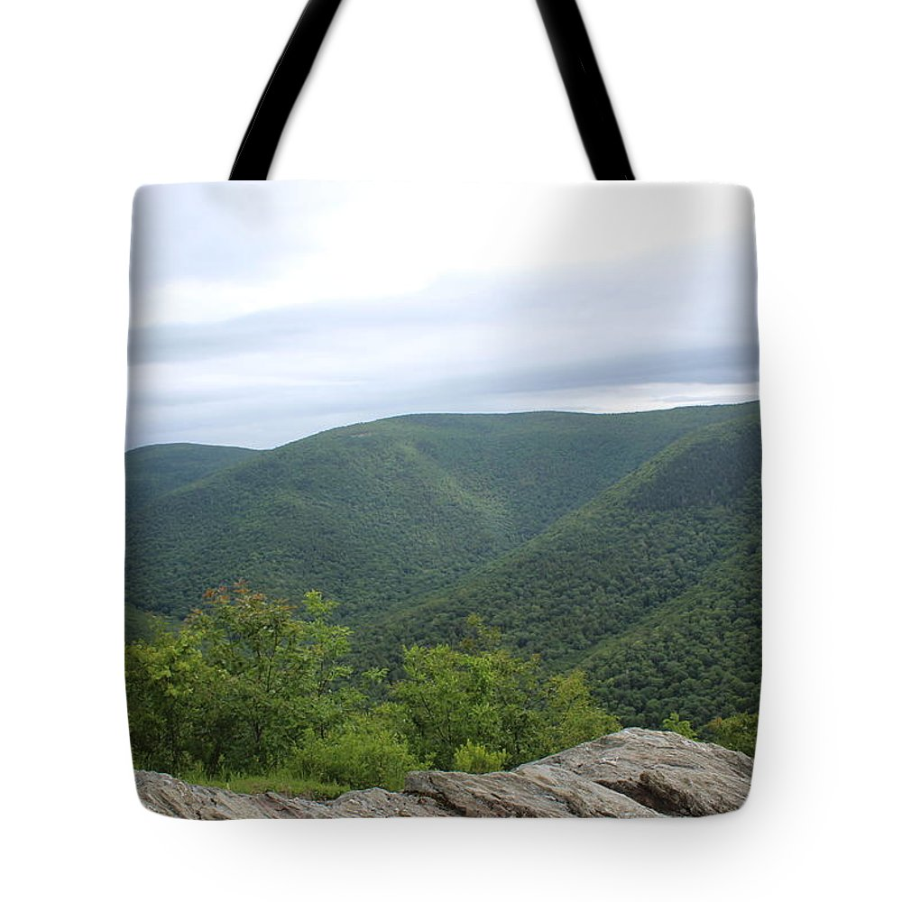 Berkshires Tote Bag featuring the photograph Rolling Mountains by Brittany Galipeau