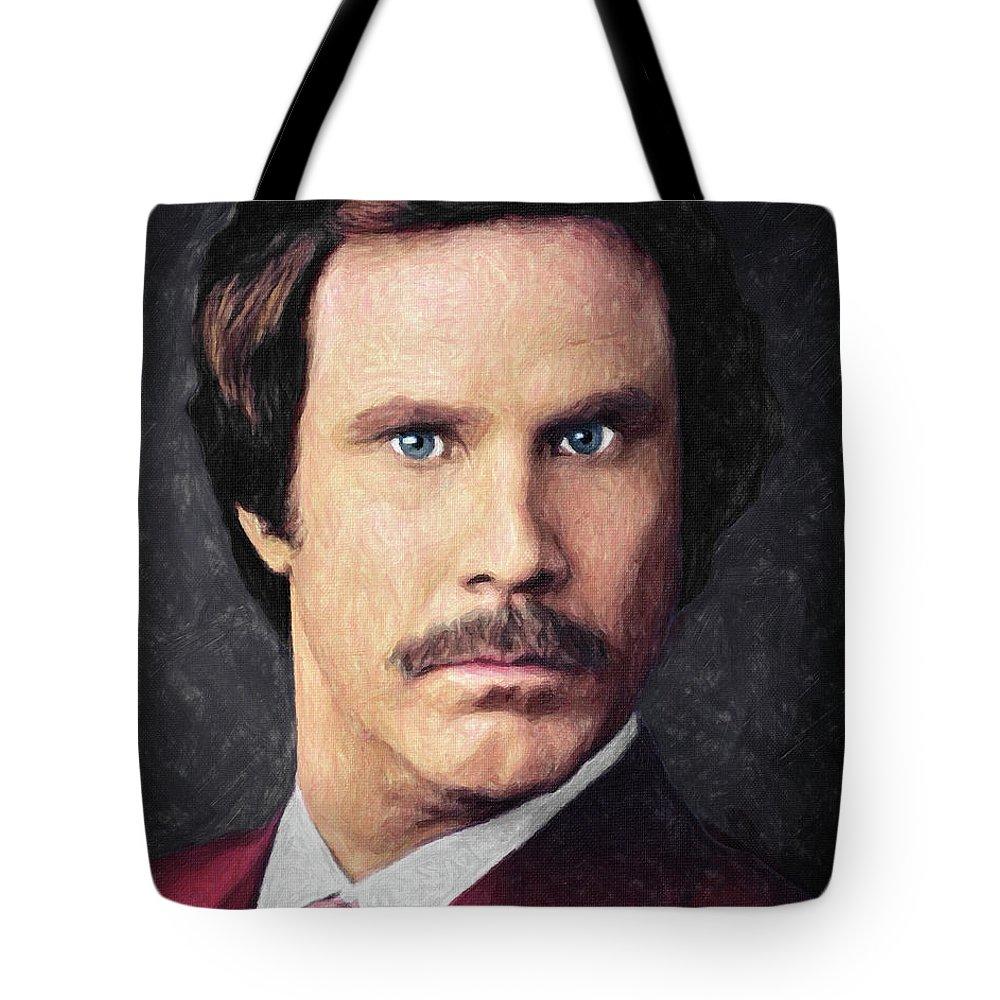 Film Still Paintings Tote Bags