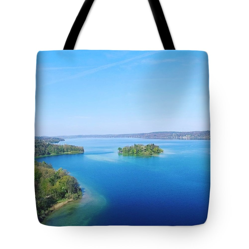 Starnberg Tote Bag featuring the photograph Roseisland by Daniel Hornof