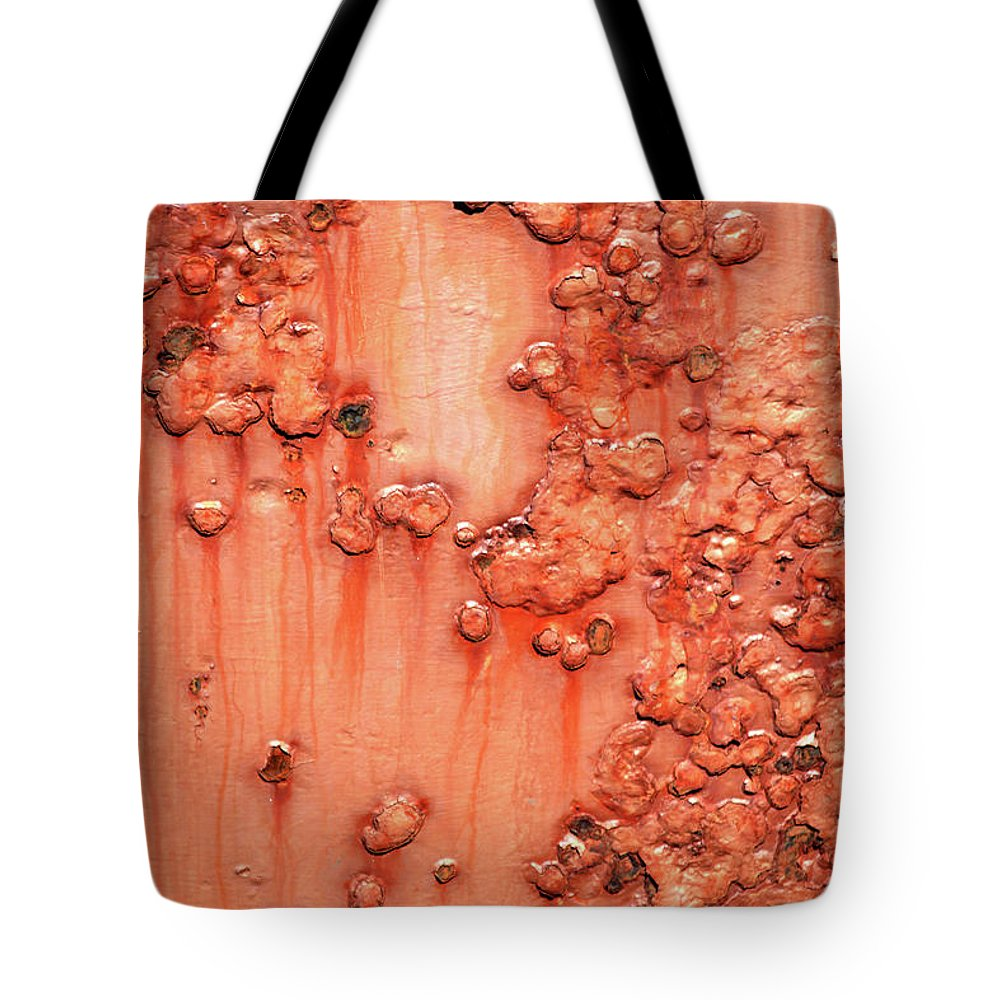 Rust Tote Bag featuring the photograph Rust by Trevor Slauenwhite