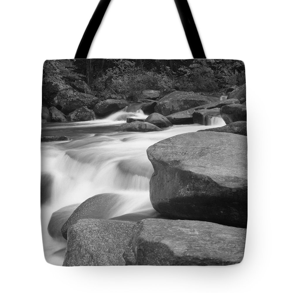 North Carolina Tote Bag featuring the photograph Rutheford County,north Carolina, Rocky by Holden Richards
