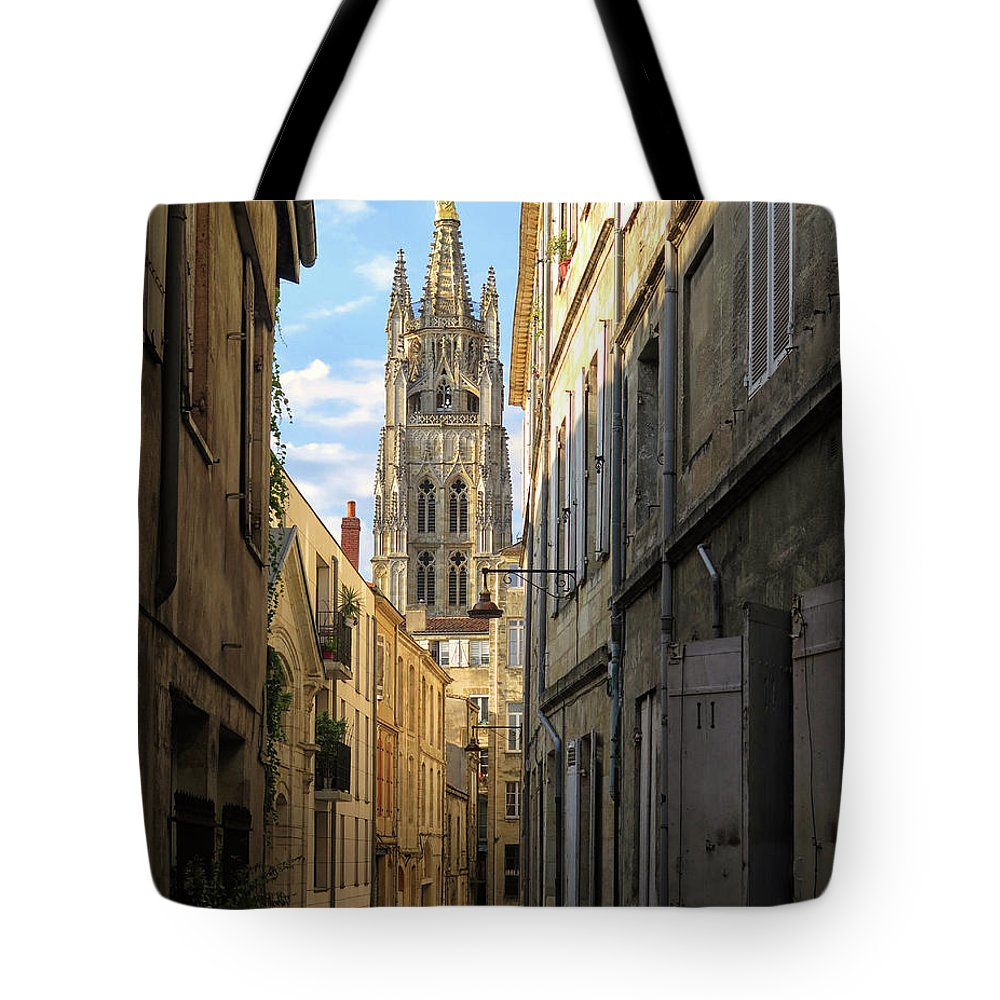 Saint Andre Cathedral Tote Bag featuring the photograph Saint Andre Cathedral by Dave Mills