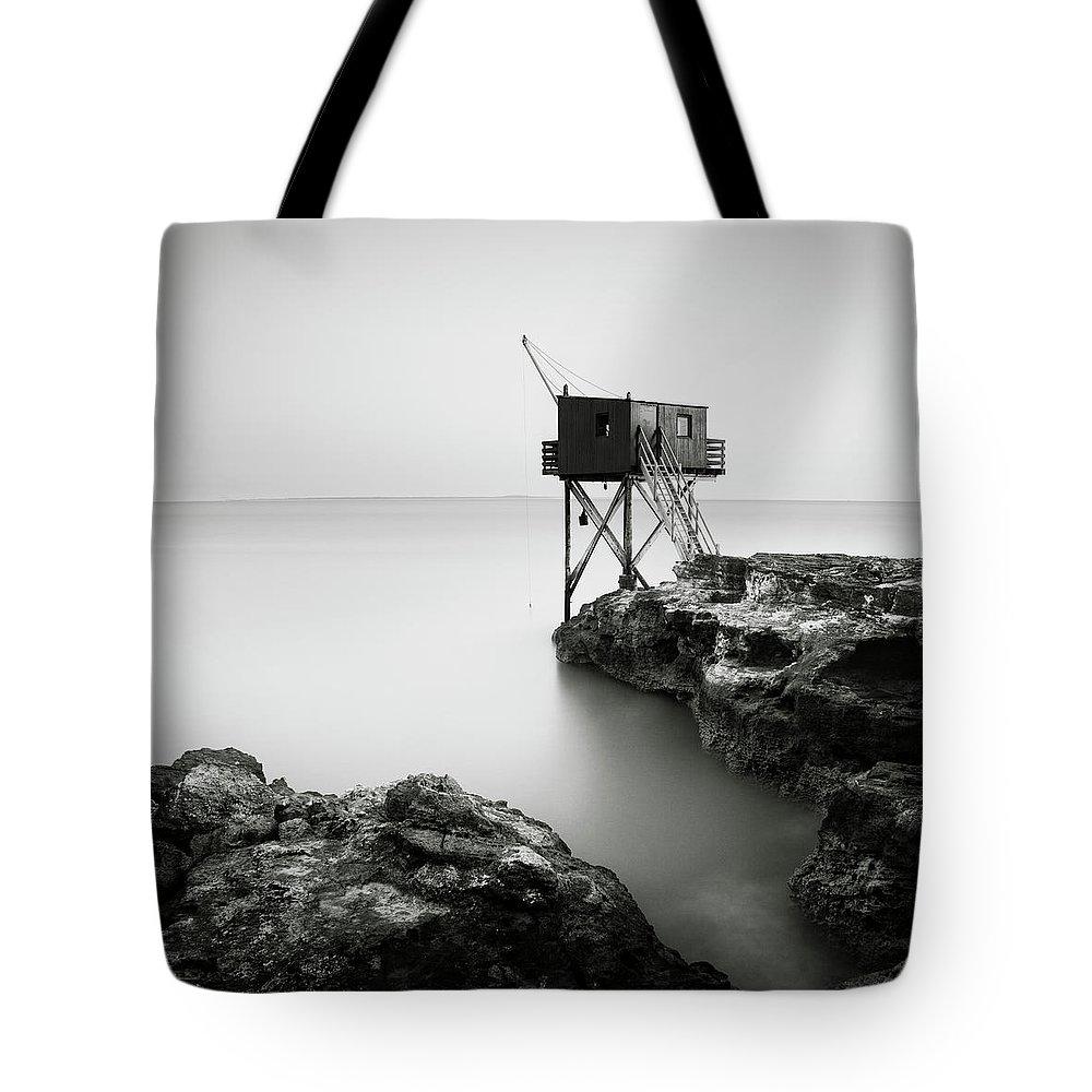 Saint Palais Sur Mer Tote Bag featuring the photograph Saint Palais Sur Mer, France, 2012 by Ronnie Behnert