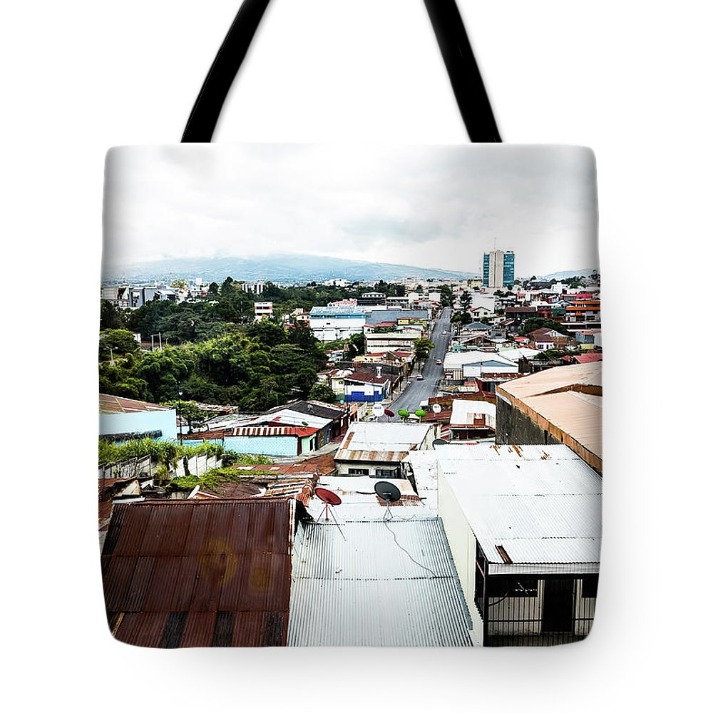 Tote Bag featuring the photograph San Jose Costa Rica by Bryce Stewart