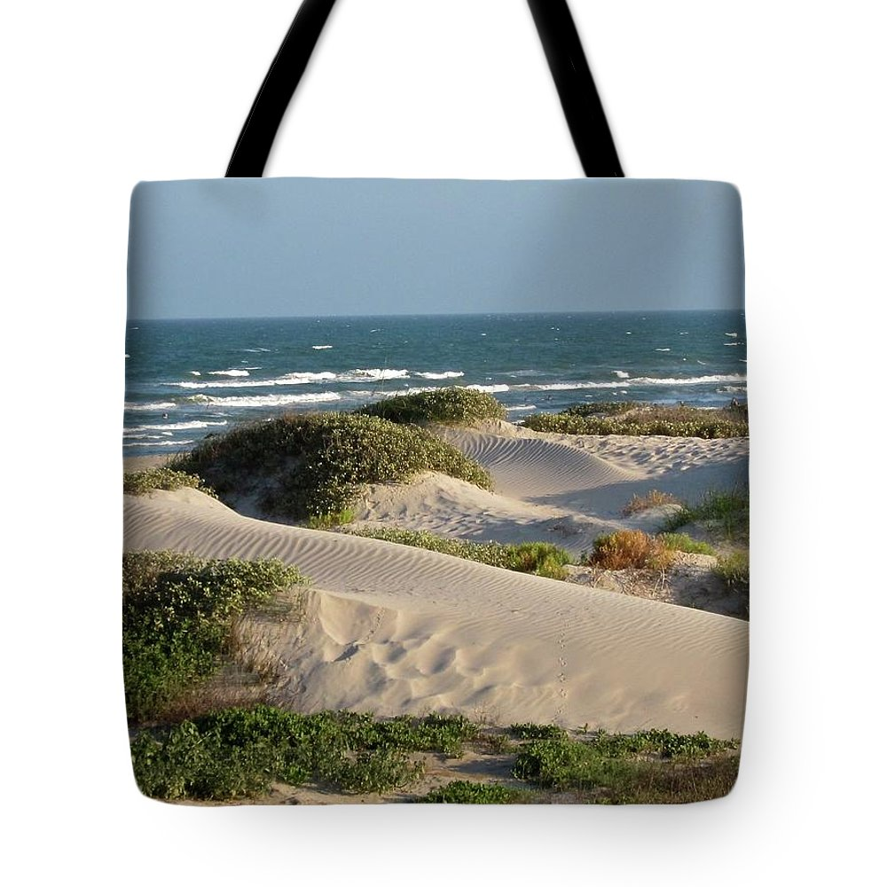 Tranquility Tote Bag featuring the photograph Sand Dunes by Joe M. O'connell