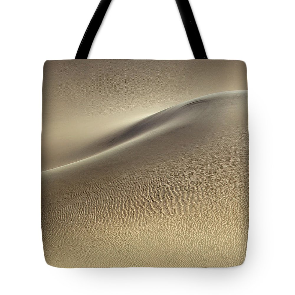 Sand Dune Tote Bag featuring the photograph Sand Dunes by Rob Kroenert