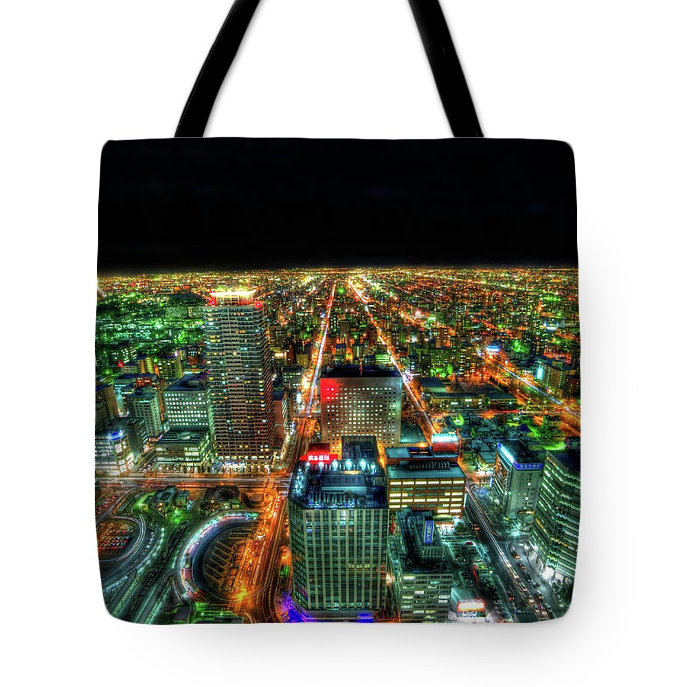 Outdoors Tote Bag featuring the photograph Sapporo by Photography By Eydie Wong