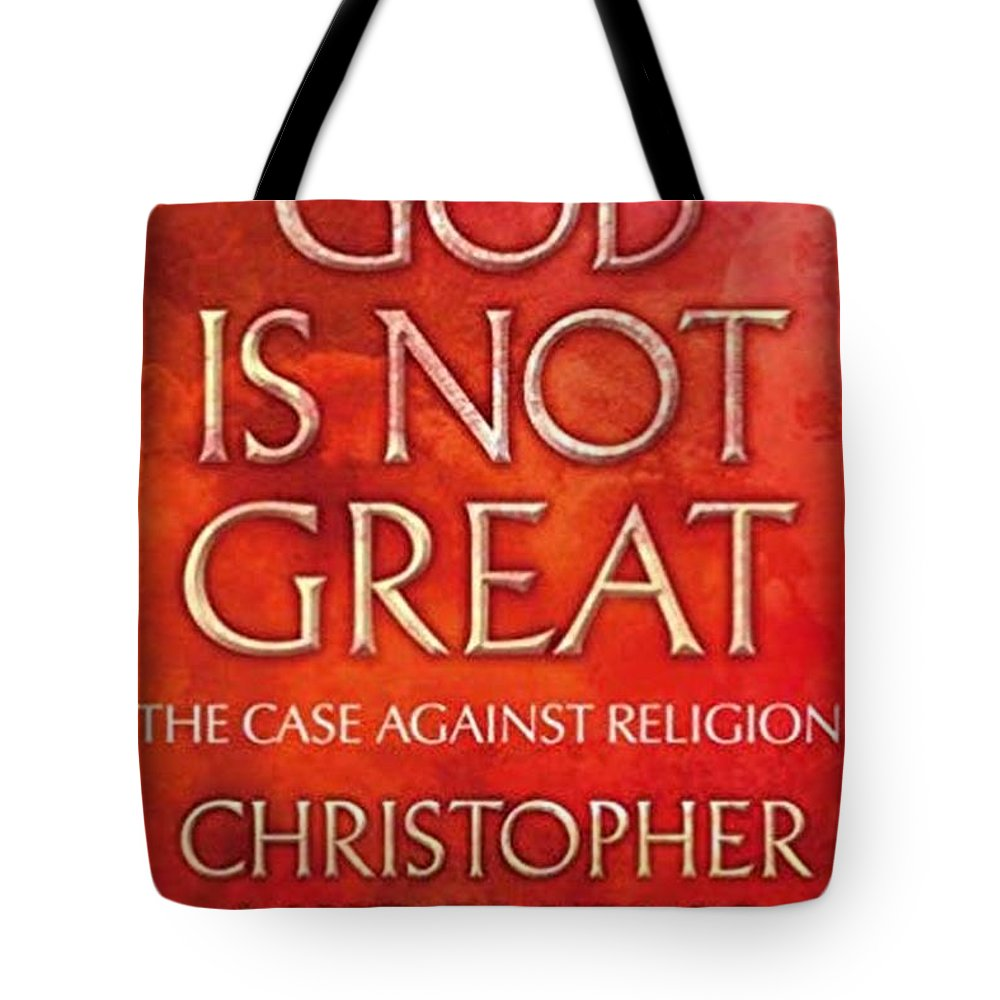 Myth Of God Bad Religion Tote Bag featuring the digital art Science Wins by Mark Hart