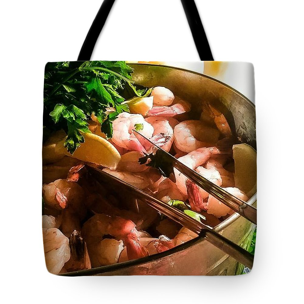 Tote Bag featuring the mixed media Scrumptious by Darnell Ligon