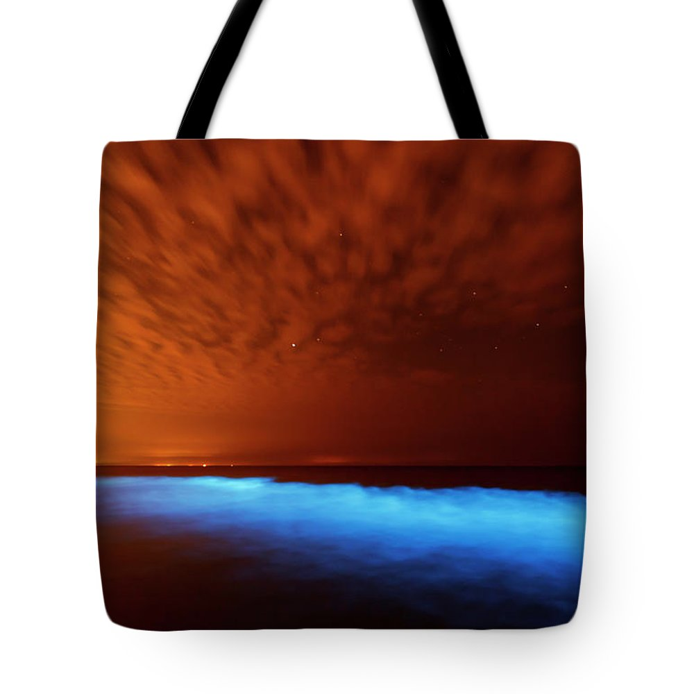 Bioluminescent Tote Bags