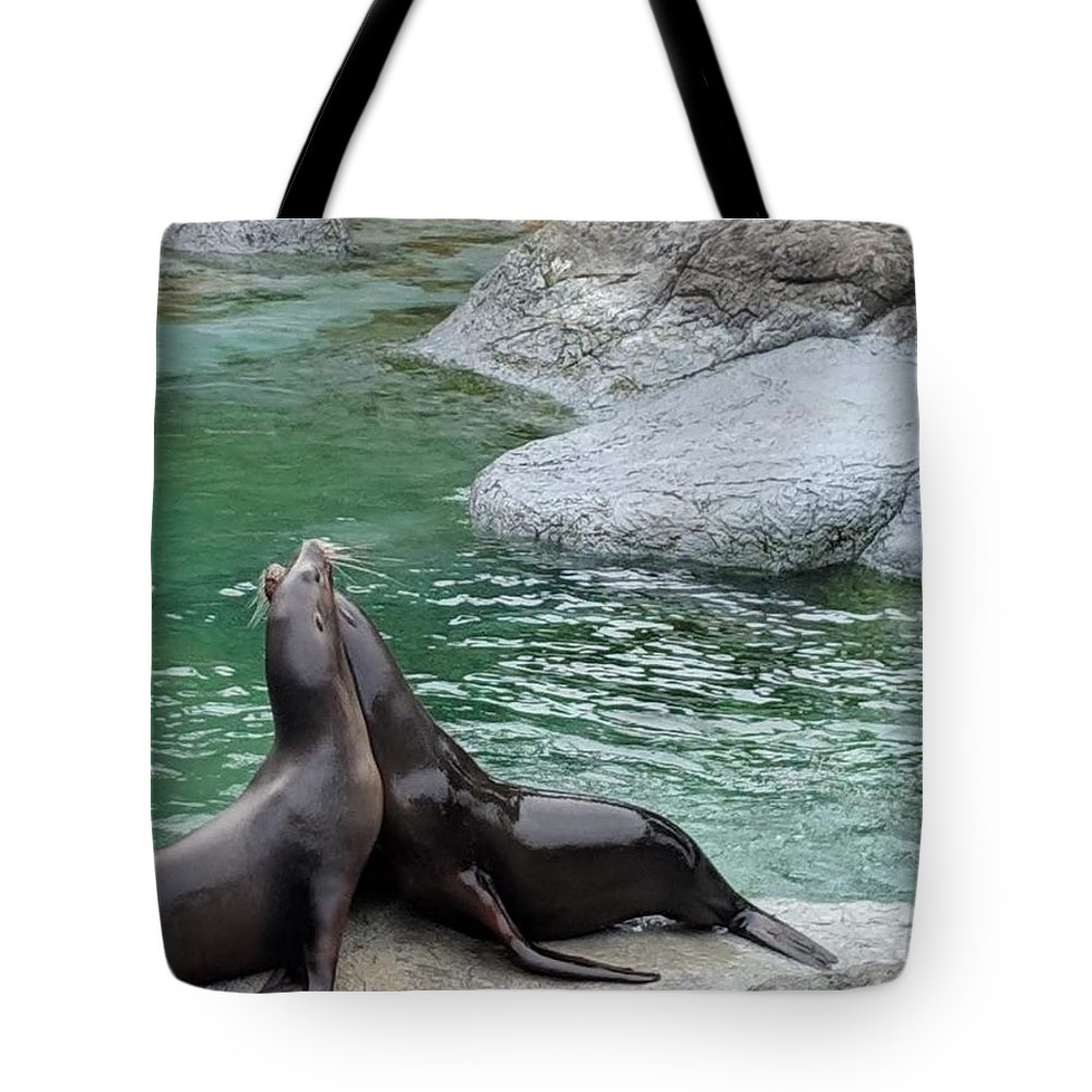 Zoo Photographs Tote Bags