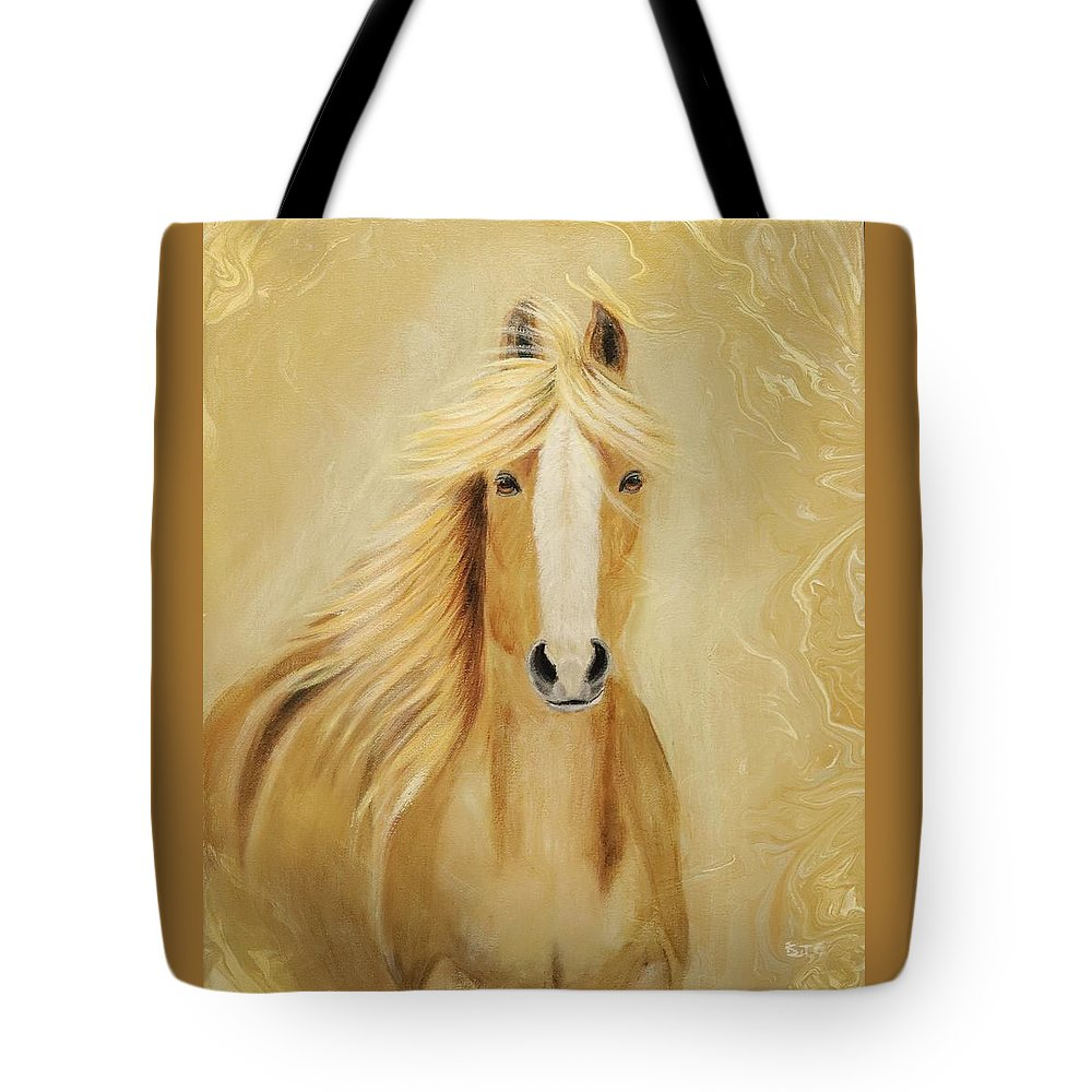 Serenity Tote Bag featuring the painting Serenity by Suzy Combs