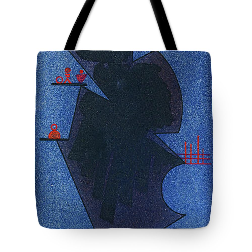 Synthesis Tote Bags