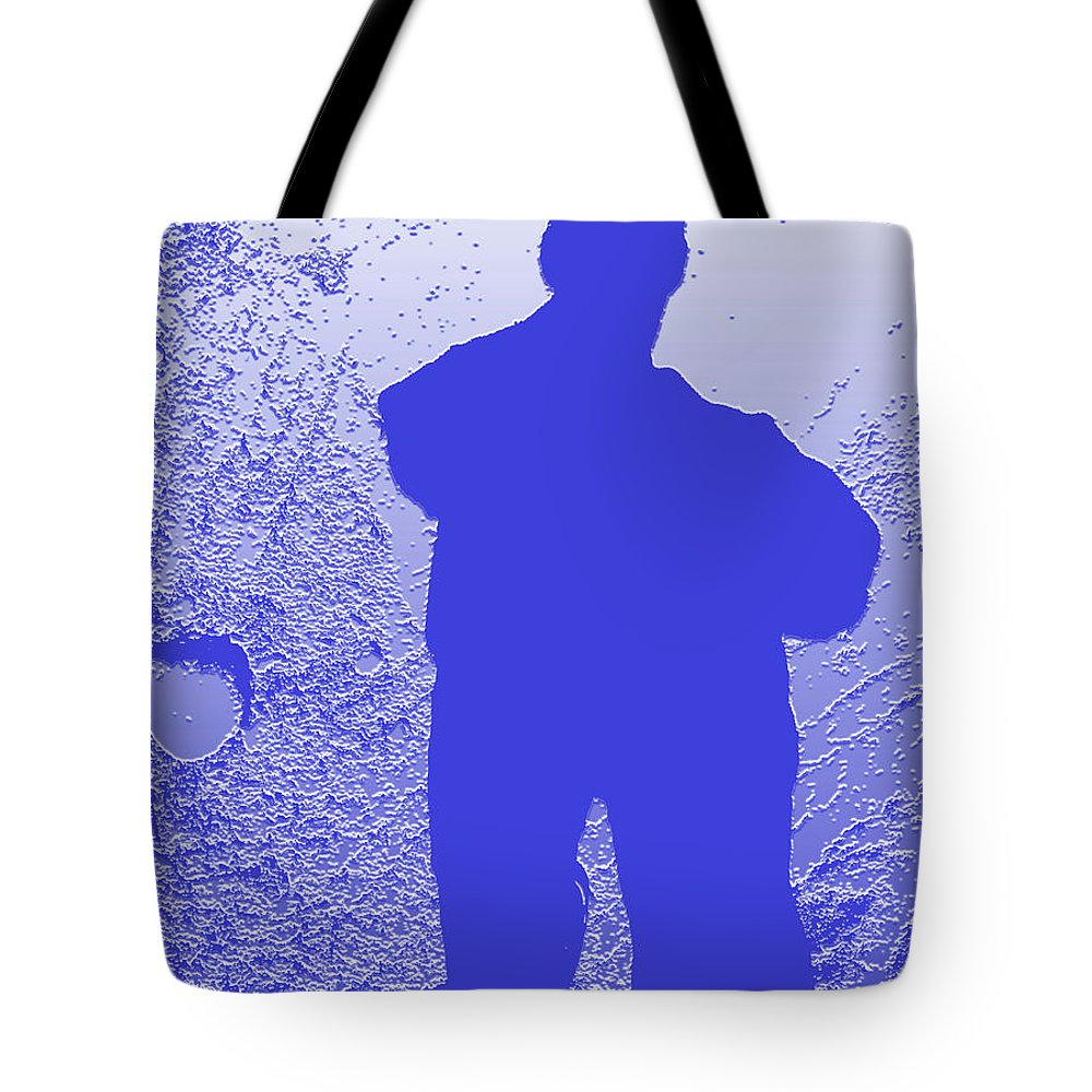 Abstract Portrait Tote Bag featuring the photograph Shadowland by Geoff Jewett