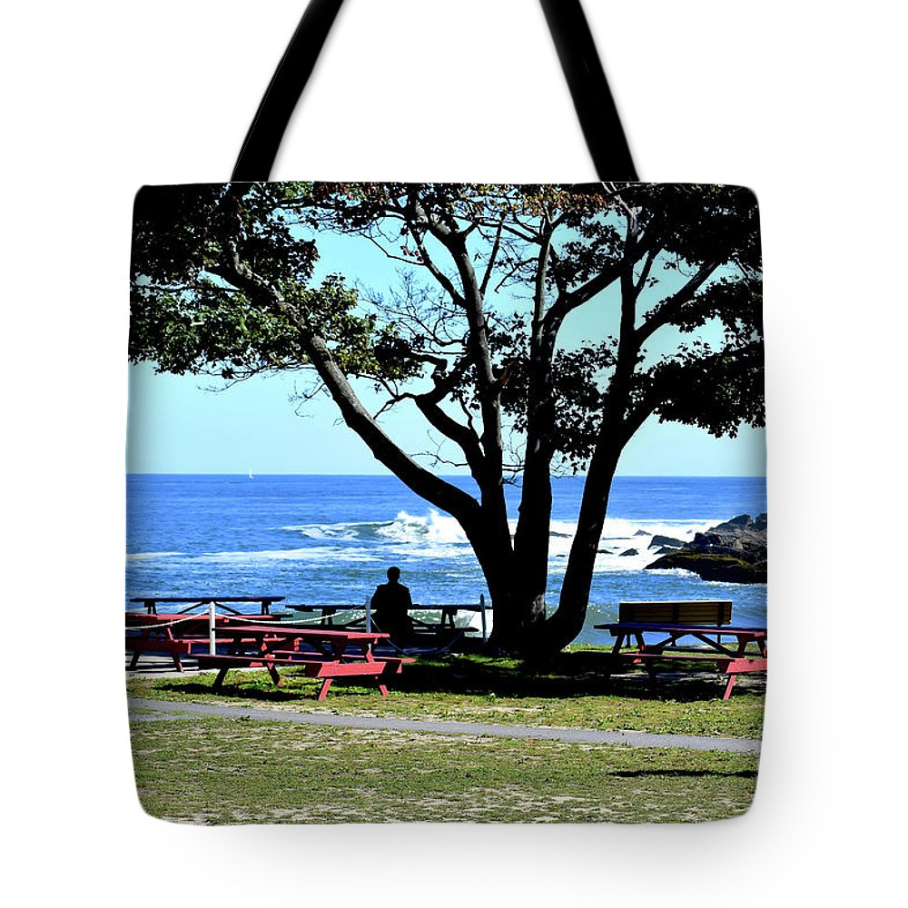 Ship Cove Park Tote Bag featuring the photograph Ship Cove Park by Patti Whitten