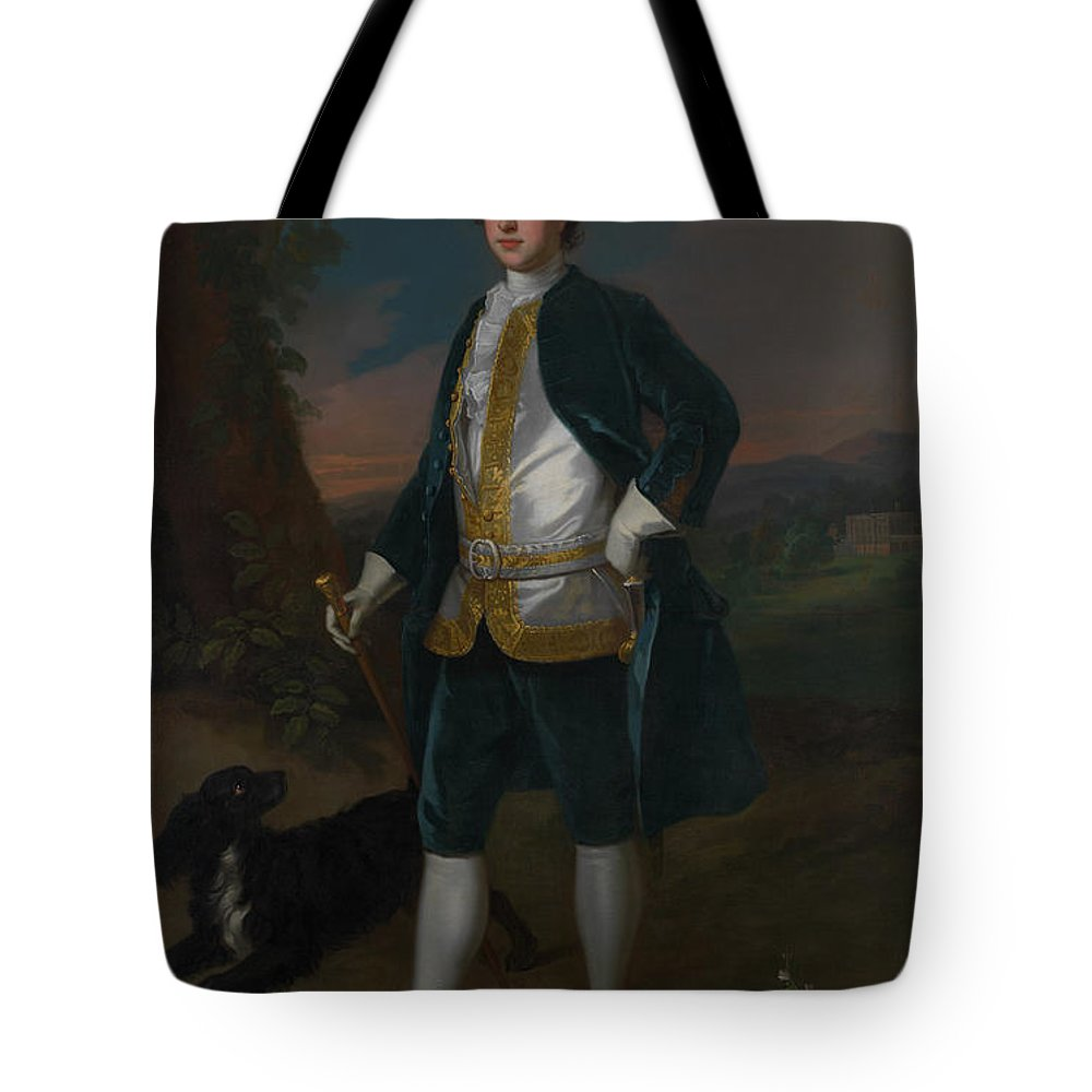 Enoch Seeman The Younger Tote Bag featuring the painting Sir James Dashwood    by Enoch Seeman the Younger