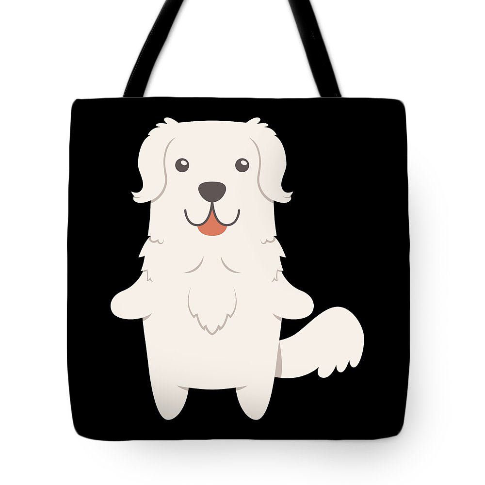 Best-dog-gift Tote Bag featuring the digital art Slovak Cuvac Dog Gift Idea by DogBoo