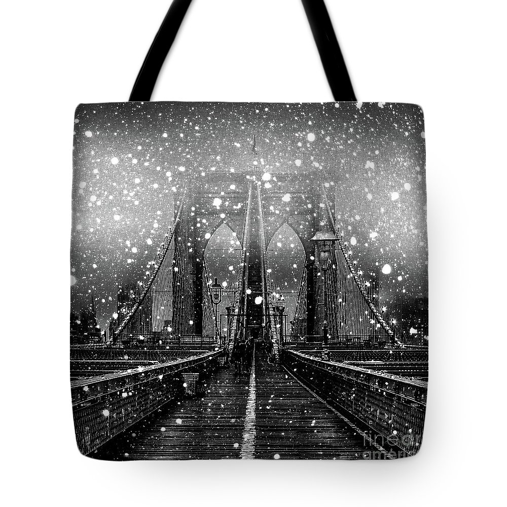 Snow Tote Bag featuring the digital art Snow Collection Set 04 by Az Jackson