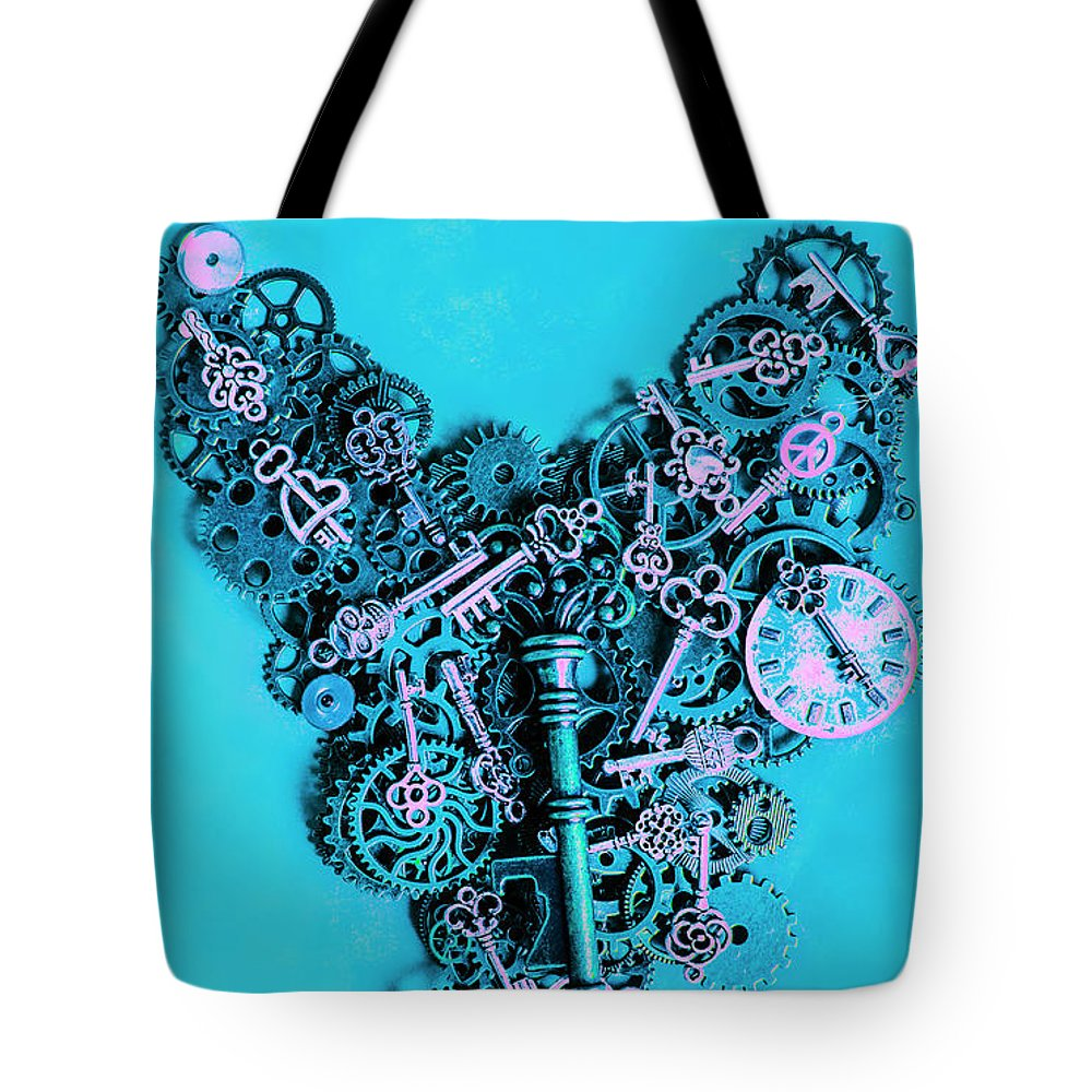 Steampunk Tote Bag featuring the photograph Solid State by Jorgo Photography - Wall Art Gallery