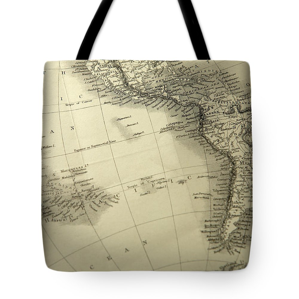 Amazon Rainforest Tote Bag featuring the photograph South America by Belterz