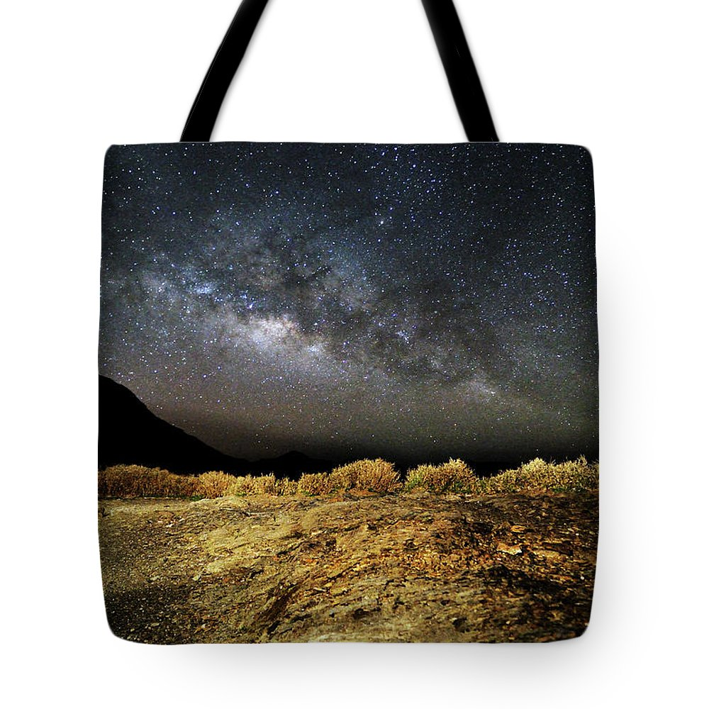 Scenics Tote Bag featuring the photograph Space by Copyright Of Eason Lin Ladaga