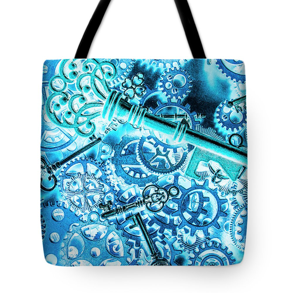 Abstract Tote Bag featuring the photograph Spiral by Jorgo Photography - Wall Art Gallery