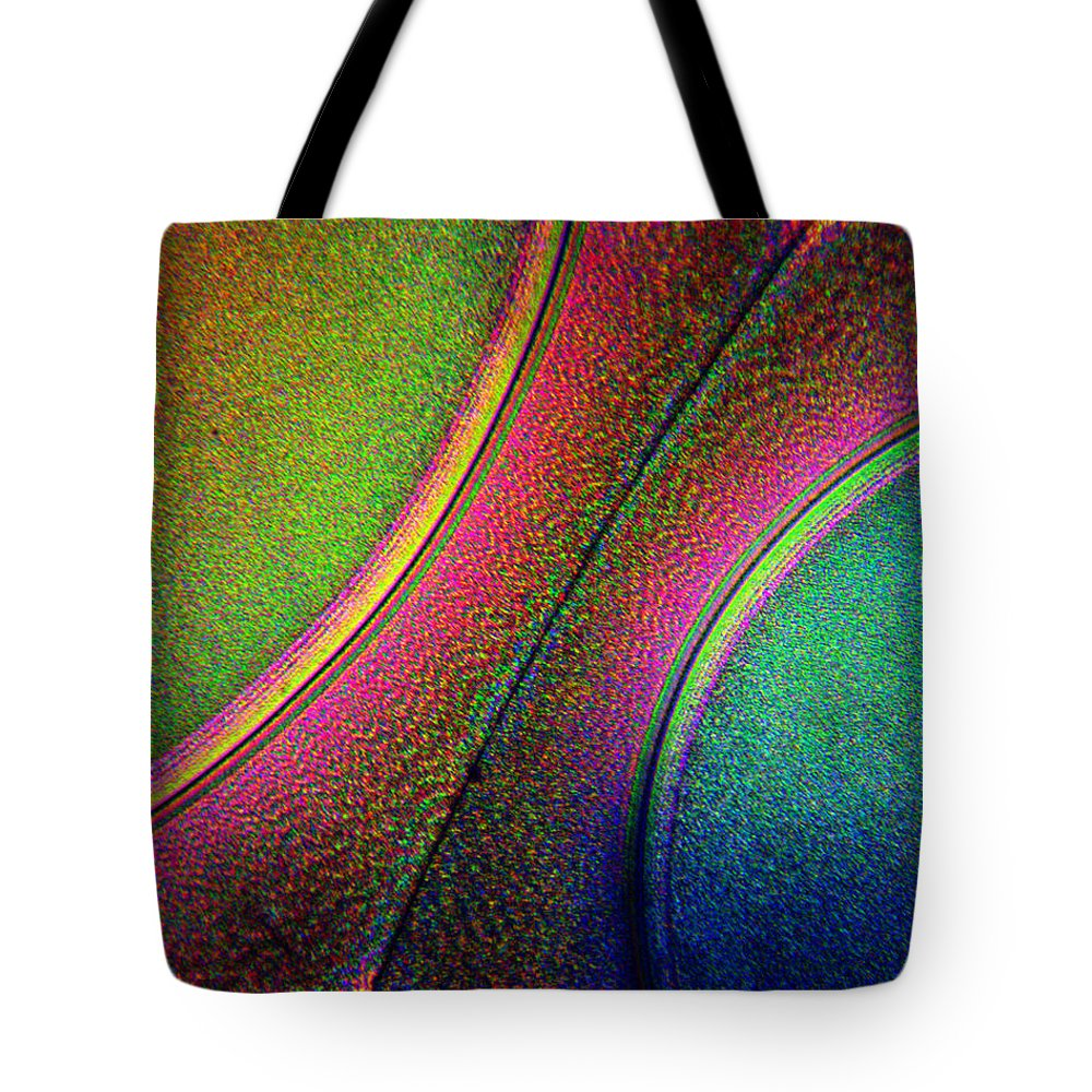 Tote Bag featuring the photograph Splitting The Difference by Rein Nomm