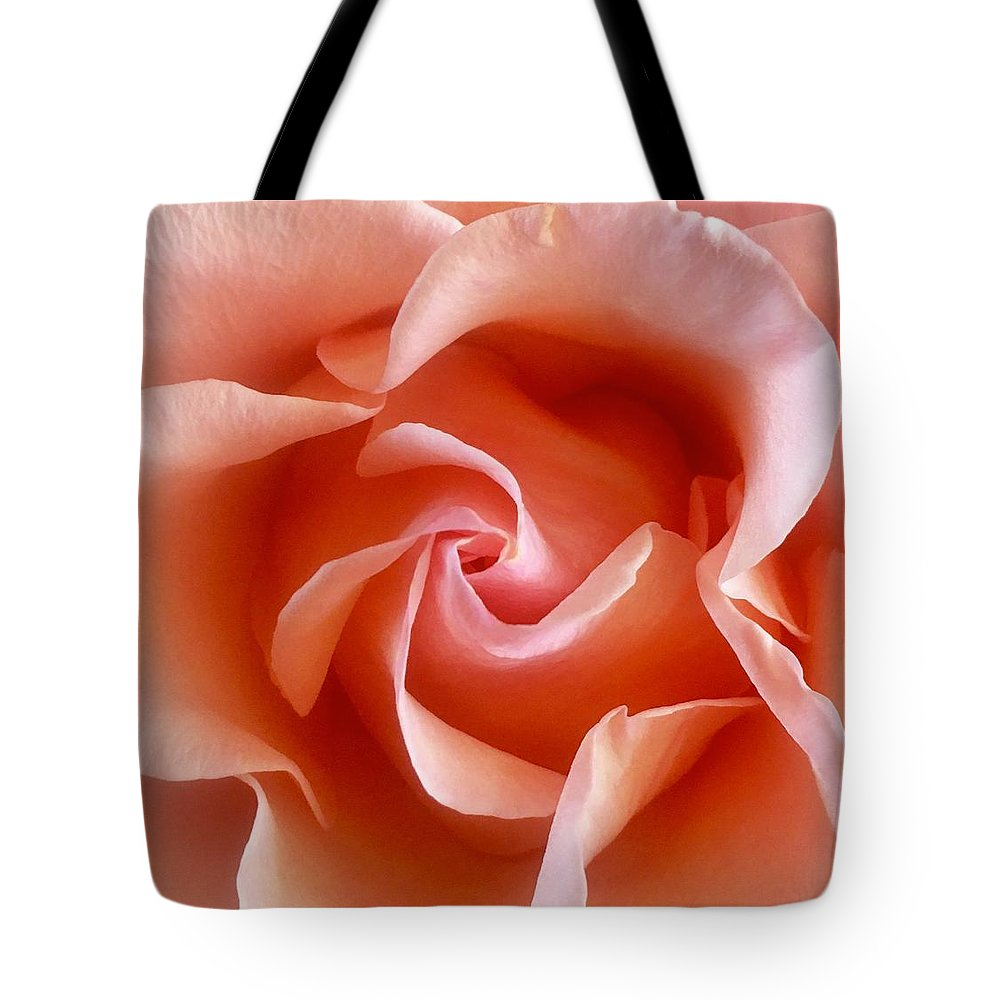 Spring Tote Bag featuring the photograph Spring Rose by Linda Knudsen