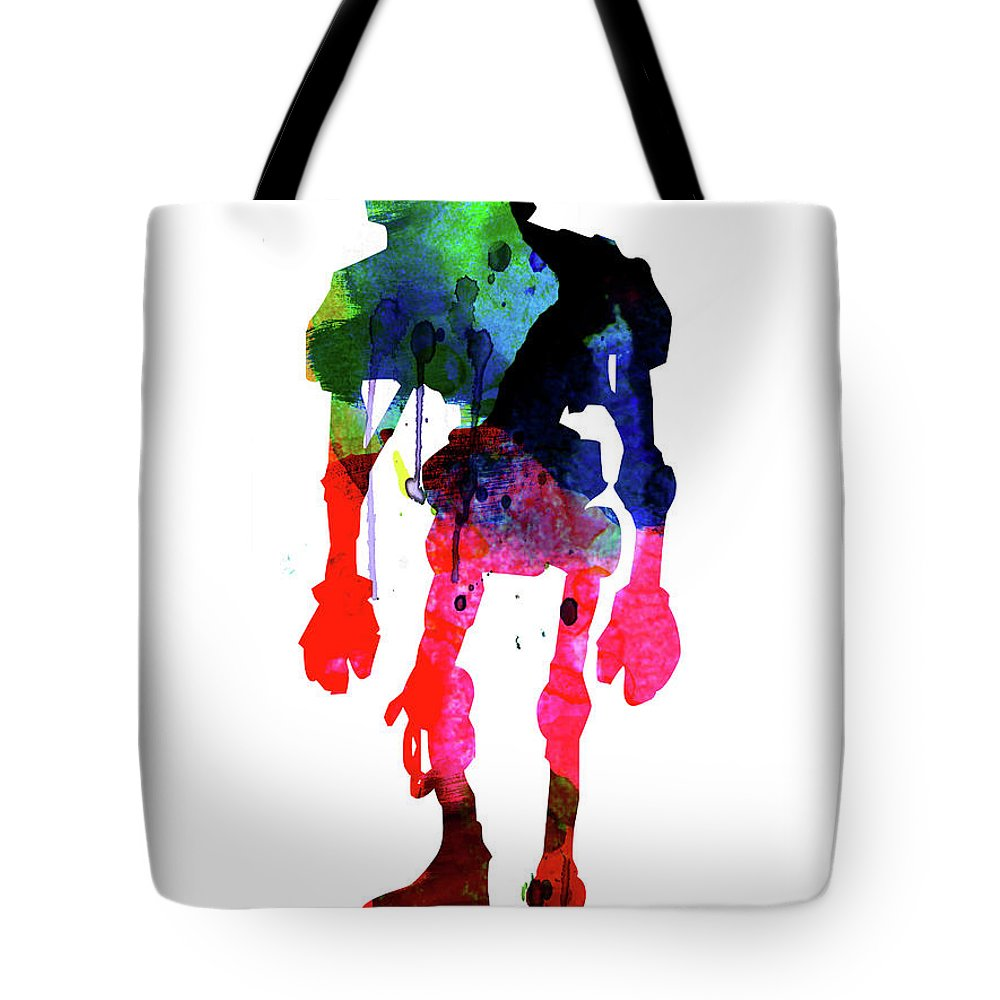Droid Mixed Media Tote Bags