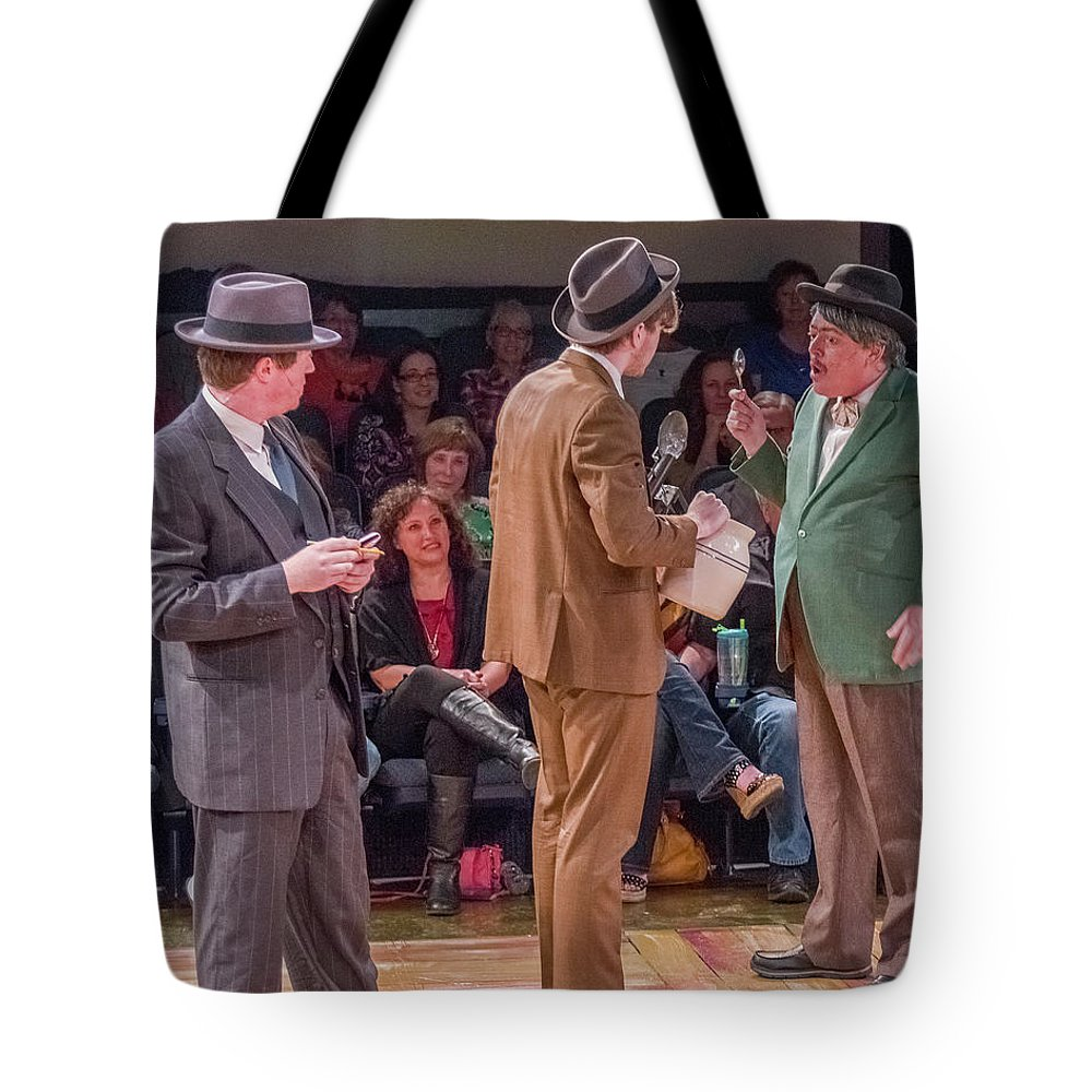 Broadway Tote Bag featuring the photograph State Fair by Alan D Smith