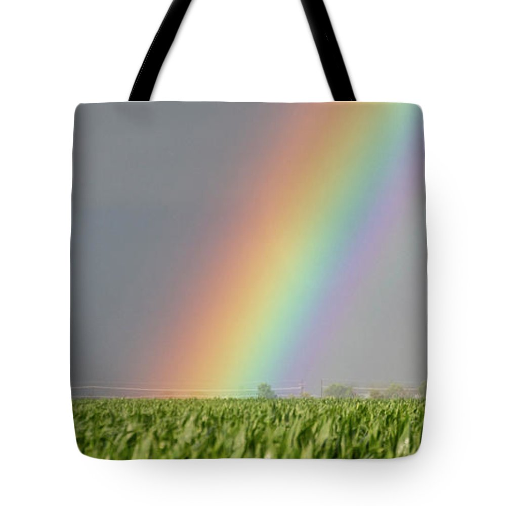 Nebraskasc Tote Bag featuring the photograph Storm Chasing After That Afternoon's Naders 023 by NebraskaSC