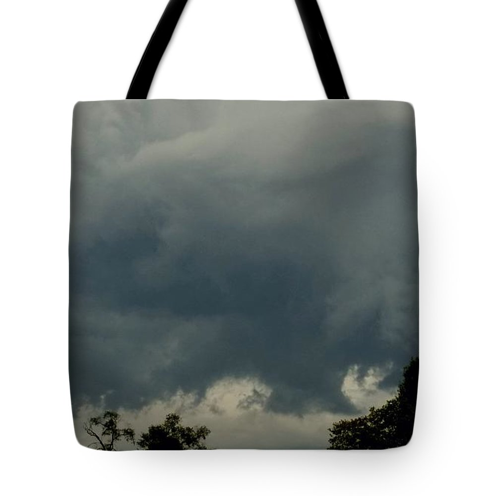 Weather Tote Bag featuring the photograph Storm In September by Ally White