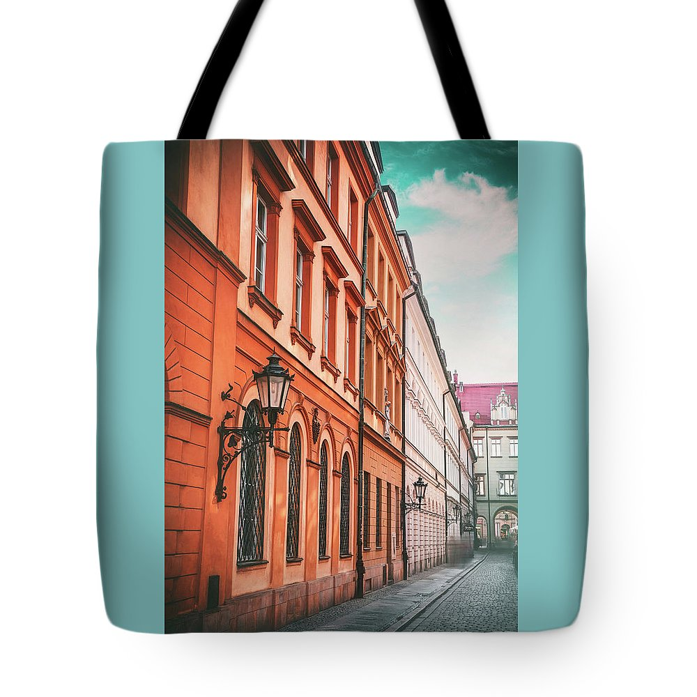 Wroclaw Tote Bag featuring the photograph Streets Of Wroclaw Poland by Carol Japp