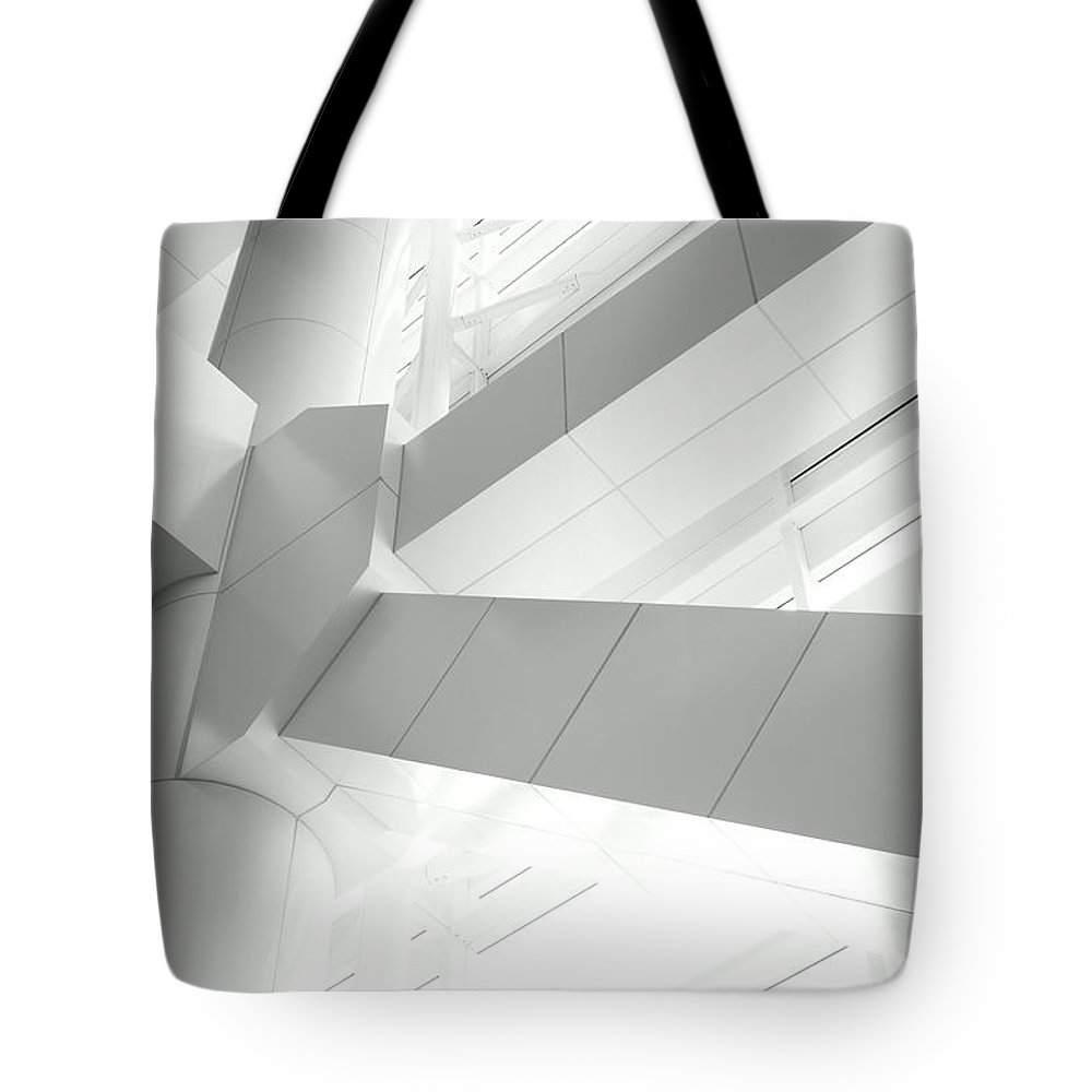 Toughness Tote Bag featuring the photograph Structural Connection by Blackred